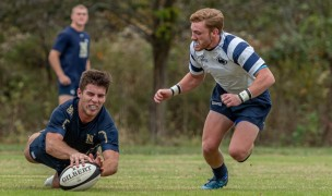 Navy and Penn State are two of the teams in Rugby East. Colleen McCloskey photo.