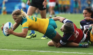 Australia vs USA in the 2016 Olympics.