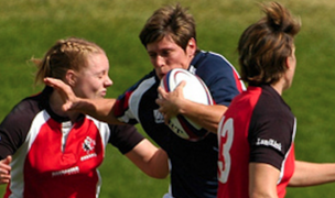 Jervey busts through against Canada. KLC Fotos for USA Rugby.