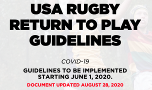 Header from USA Rugby's Return to Play Guidelines.