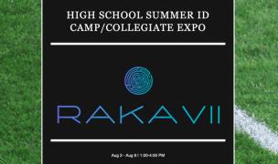 Rakavii Sports Camp is August 2-6 in Elma, NY.