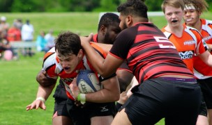 The Richmond Strikers got their steam up against the Raleigh Rattlesnakes.
