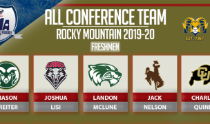 Rocky Mountain Conference All-Freshmen.