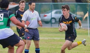 SFGG's backs have been running all season. Photo SFGG Rugby.