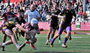 St Joe's vs West Chester from 2018. Photo SJU Rugby.