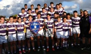 Saint Augustine celebrates a championship.