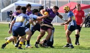 Thunder Rugby beat Belmont Shore in a warmup last week.
