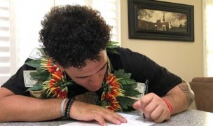 HS All American and EIRA tourist Mason Taliulu signs with Lindenwood.