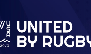 The slogan for the bid is United by Rugby.
