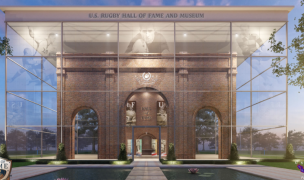 The US Rugby Hall of Fame building is a virtual building. Access it at usrugbyhalloffame.org