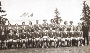USA team 1977. Photo Rugby Magazine