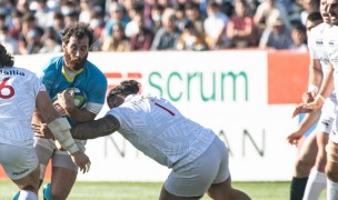 Uruguay was on the front foot most of the game. Photo Uruguay Rugby.