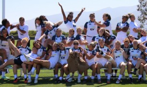 The USA team goofing around in Chula Vista in 2019. Mere Baker photo.