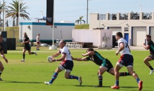 Action from Day 1. Photo via World Tens Series.