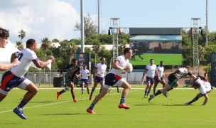 Action from Day 1 of Round 1. Photo courtesy World Tens Series.