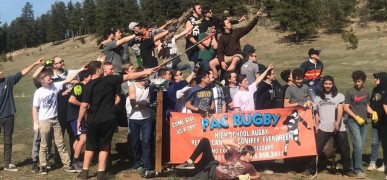 PAC Rugby in Colorado worked together to repair trails in their hometown. Just an example.