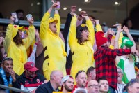Fans in costume in Vancouver. David Barpal photo.