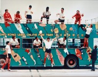 The USA team having some fun in Hong Kong in 1989.