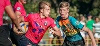 Action from the 2019 Tropical 7s. Lisa Schlager photo.