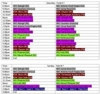 Charrlote Ruggerfest Schedule Field 7