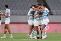 Argentina upset South Africa. Mike Lee - KLC fotos for World Rugby