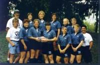 Fitz and the Atlantis 7s team in 1996. Photo Emil Signes.