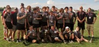 The 2017 U15 state champions. Photo Berks Rugby.