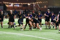 Isaac Tinoisamoa toughs it out for Carlsbad.