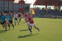 Chris Wyles against Uruguay in a Rugby World Cup Qualifier in Florida. Will Ris photo.