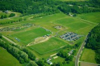 The Cottage Grove facility before the clubhouse was built.