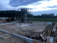 Ongoing construction.