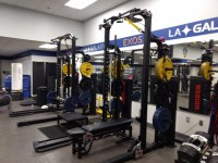 The weight room at Dignity Health Sports Park. Alex Goff photo.