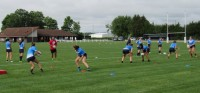 Action from the EIRA girls camp in Eklhart, Ind. Alex Goff photo.