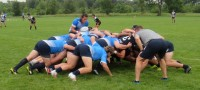 Action on game day at the end of camp. Alex Goff photo.