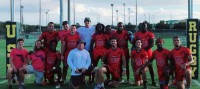 FAU Rugby after winning the Florida DIAA 7s.