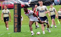 D'montae Noble scores for Kutztown.