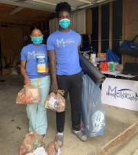 MICR at work in the community. Photo: MICR.