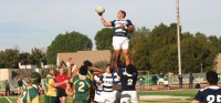 St. John Bosco wins a lineout against Mira Costa.. Tim Trinh photo.