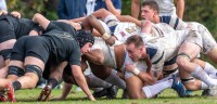 Scrums were Army's strength. Colleen McCloskey photo.