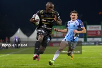 He's still got it. Ngwenya for Brive in 2016. Photo INPHO/James Crombie.