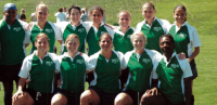 The Northeast Women's 7s All-Stars of 2005. Photo Rugby Magazine.
