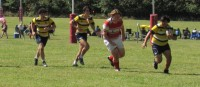Action from this past weekend's Rugby Ohio 7s. Alex Goff photo.