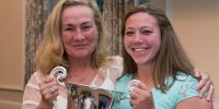 MA Sorensen with fellow prop and first-ever MA Sorensen Award-winner Hope Rogers. Photo Washington Athletic Club.