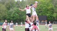 Owen Clarke's work in the lineout was huge for Staples.