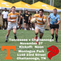 Next up, Tennessee at Chattanooga Men's Club.