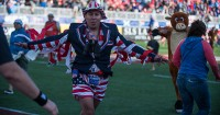 Fans in costume at the USA 7s. David Barpal photo.