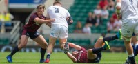 The USA's games against England and Ireland were useful lessons. Ian Muir photo.