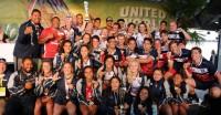 Utah Lions boys and girls at the United World Games. Photo: Utah Academy.