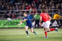 Will Magie playing for the USA versus Canada in 2019. David Barpal photo.